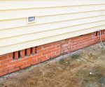 How to Add Brick Foundation Vents to Crawl Space