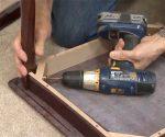 using drill to tighten fasteners
