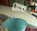 Cutting a glass jar with string