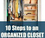 10 Steps to an Organized Closet