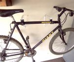 Hanging Bikes With Closet Shelf Brackets
