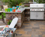 Pavestone Outdoor Kitchen Time Lapse