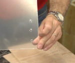 Tip for Drilling Through Plexiglass