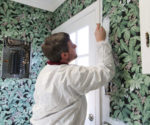 How To Paint Over Wallpaper – Today's Homeowner