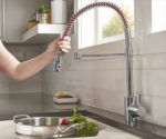 This Faucet Turns Up the Heat in Kitchen Decor