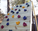 Build It! A Cargo Net/ Climbing Wall for the Kids
