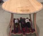 Ryan's Wooden Creations Include Patio Table and Coolers