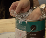 How to Preserve Paint with Plastic Wrap