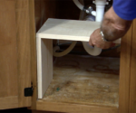 How to Build a Storage Shelf Under the Kitchen Sink – Today's Homeowner