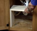 How to Build a Storage Shelf Under the Kitchen Sink