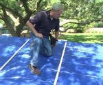 MICHAEL AFTERMATH: How to Attach a Tarp to a Leaking, Storm-Damaged Roof – Today's Homeowner