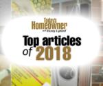TodaysHomeowner.com's Top 10 Articles of 2018