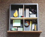 DIY Desk Drawer Divider