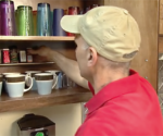 How to Make a Curtain Rod Spice Rack