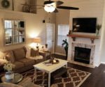 Family Room Gets Rustic Renovation