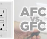 AFCI and GFCI outlets may look alike, but they function very differently.